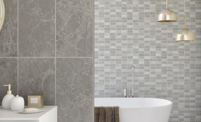 A Practical Stylish Bathroom Cladding Idea