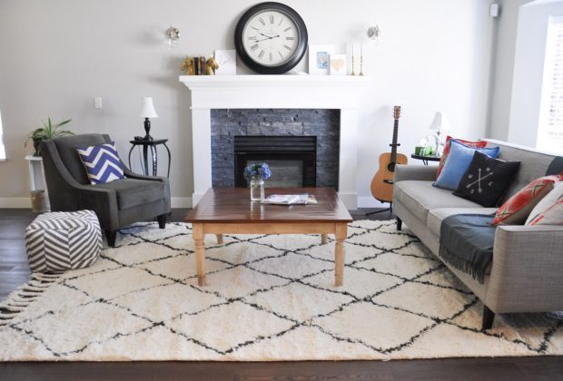 Maintaining area rugs