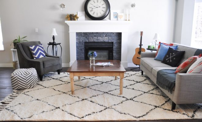 Maintaining area rugs
